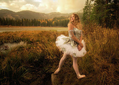 Photograph - Autumn Fairy by Dave Koch
