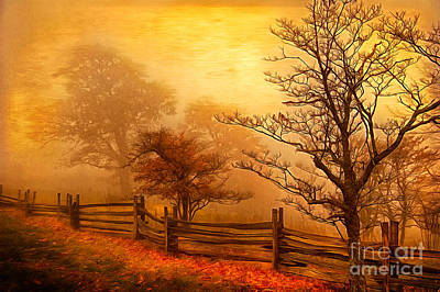 Autumn Landscape For Sale Painting - Autumn Fall Colors 3 Ap by Dan Carmichael