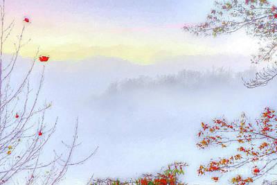 Painting - Autumn Fall Colors A Select Few Ap by Dan Carmichael