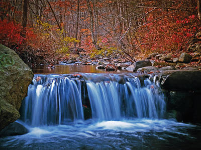 Photograph - Autumn Falls by Jim DeLillo