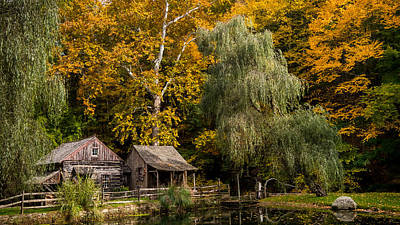 Photograph - Autumn Farm by Glenn DiPaola
