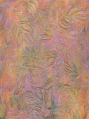 Autumn Fern Leaves  Art Print