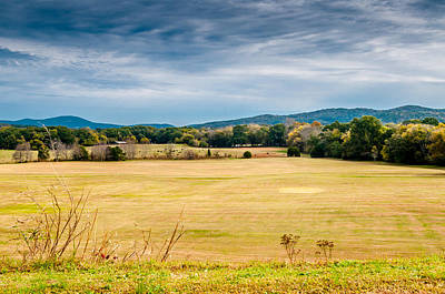 Photograph - Autumn Field by James L Bartlett