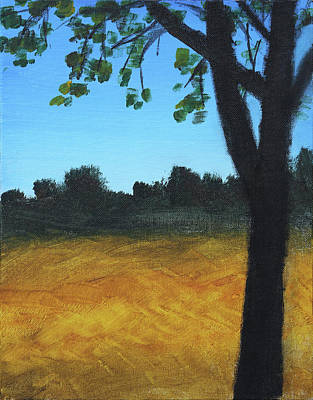 Painting - Amber Field by Stacy Williams