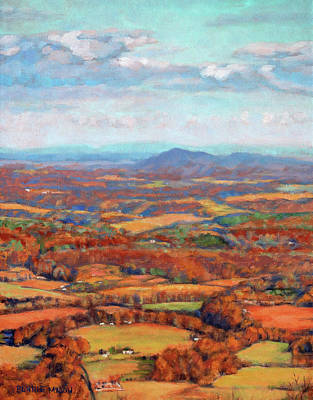 Painting - Autumn Fields by Bonnie Mason