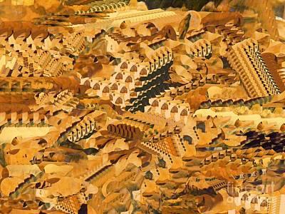 Digital Art - Autumn Fields by Nancy Kane Chapman
