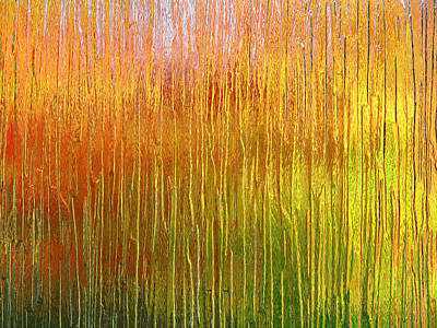 Photograph - Autumn Fire Abstract by Gill Billington