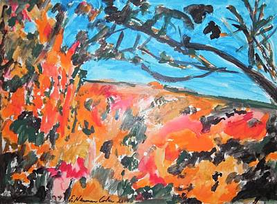 Painting - Autumn Flames by Esther Newman-Cohen