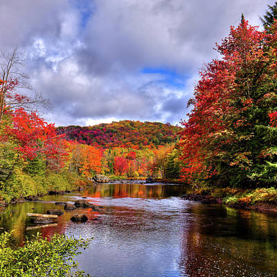 Photograph - Autumn Flow by David Patterson