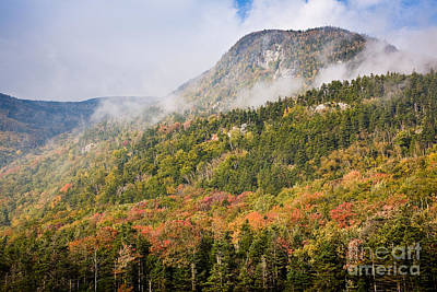 Photograph - Autumn Fog On Mount Blue by Susan Cole Kelly