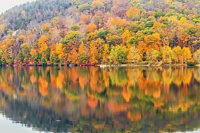 Autumn Foliage In Ringwood Nj Print by Geraldine Scull
