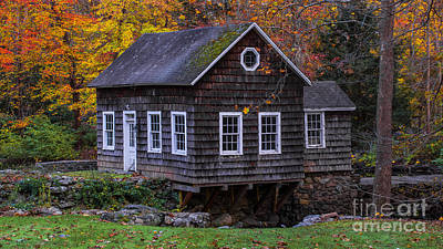 Photograph - Autumn Foliage On The Back Roads Of Connecticut by New England Photography