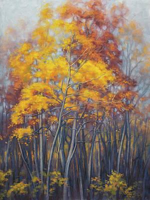 Autumn Forest 2 Art Print by Fiona Craig