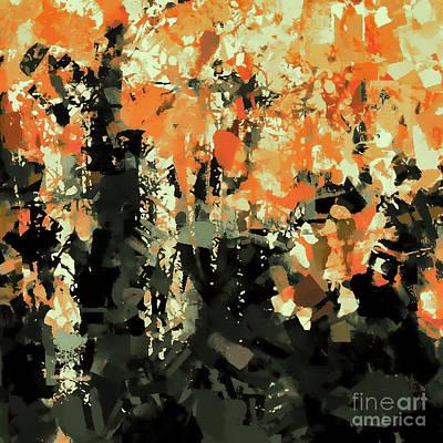 Digital Art - Autumn Forest 2 by Tim Richards
