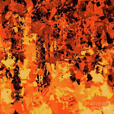 Painting - Autumn Forest 3 by Tim Richards