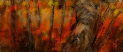 Digital Art - Autumn Forest by Jim Vance