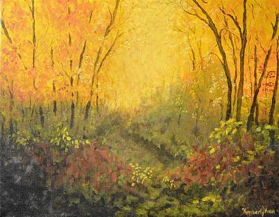 Autumn Forest Art Print by Kimberly Benedict