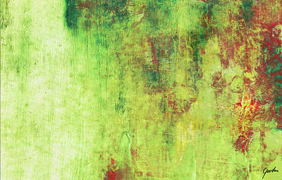 Painting - Autumn Forest Mist - Pastel Abstract Landscape Art by Modern Art Prints