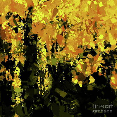Painting - Autumn Forest by Tim Richards