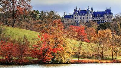 Photograph - Autumn From Biltmore Lagoon by Carol Montoya