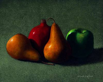 Painting - Autumn Fruit by Frank Wilson