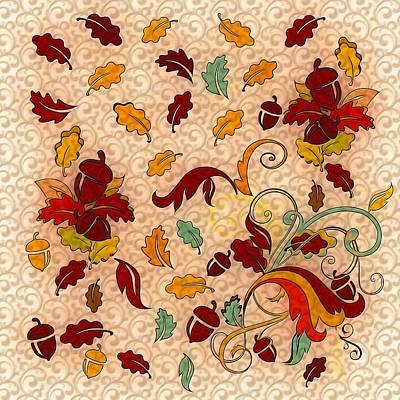 Mixed Media - Autumn by Gabriella Weninger - David