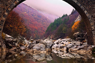 Rhodope Mountains Photograph - Autumn Gate by Evgeni Dinev
