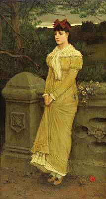 Painting - Autumn by George Henry Boughton