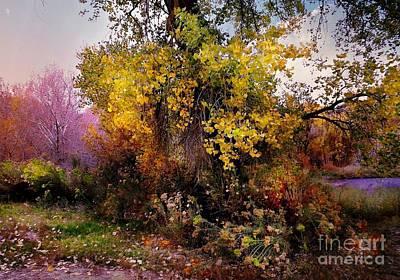 Digital Art - Autumn Glory by Annie Gibbons