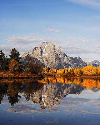 Photograph - Autumn Glory At Oxbow Bend In Gtnp by Vishwanath Bhat