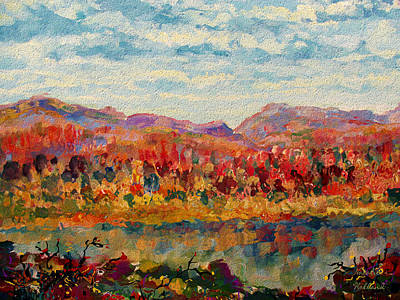 Painting - Autumn Glory by Natalie Holland