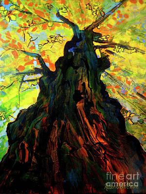 Autumn Glow Art Print by Allison Coelho Picone