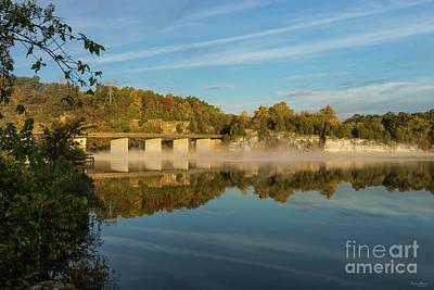 Photograph - Autumn Glow Lake Springfield by Jennifer White