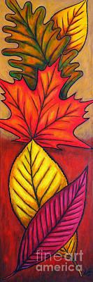 Painting - Autumn Glow by Lisa  Lorenz