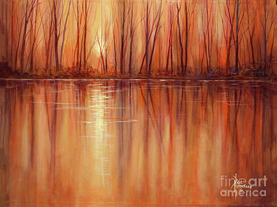 Autumn Glow Art Print by Paul Henderson