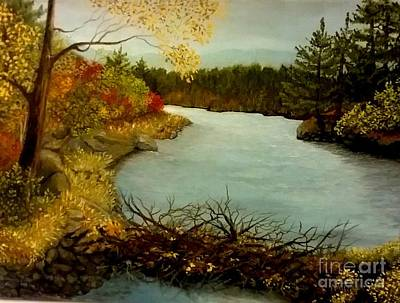 Painting - Autumn Glow by Peggy Miller
