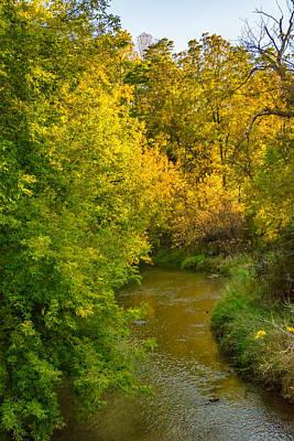 Target Threshold Nature - Autumn Glow by Steve Harrington
