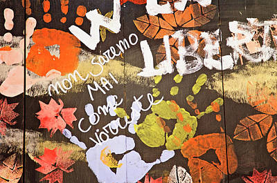 Photograph - Autumn Graffiti by Jill Love