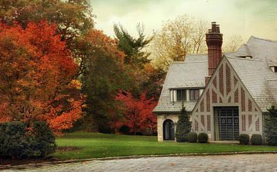 Driveway Photograph - Autumn Grandeur by Jessica Jenney