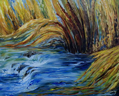 Painting - Autumn Grasses by Joanne Smoley