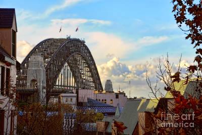 Photograph - Autumn Harbour Bridge By Kaye Menner by Kaye Menner