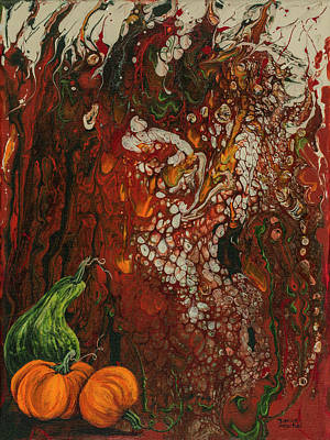 Painting - Autumn Harvest by Darice Machel McGuire