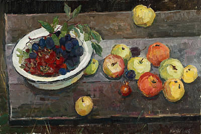 Painting - Autumn Harvest by Juliya Zhukova