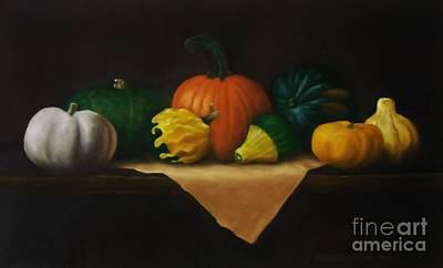 Painting - Autumn Harvest by Michelle Welles