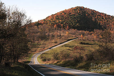 Autumn Hill Near Hancock Maryland Art Print