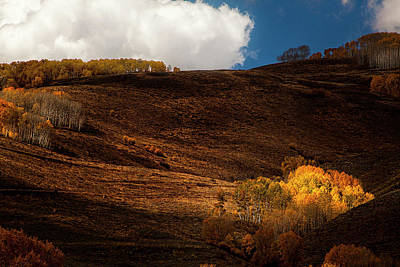 San Juan Mountains Photograph - Autumn Hills by Andrew Soundarajan