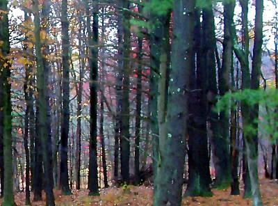 Painting - Autumn Hillside by Paul Sachtleben