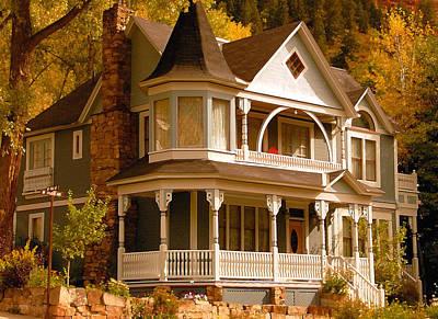 Autumn House Art Print by David Lee Thompson