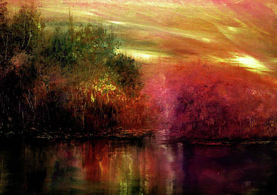Painting - Autumn Hues by Ann Marie Bone