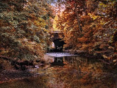 Fall Landscape Digital Art - Autumn Hues by Jessica Jenney